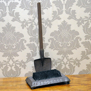 Rusty Iron Coloured Spade Design Shoe Brush - Angelo's Outlet Ltd