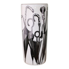 Load image into Gallery viewer, Umbrella Stand, Black & White Umbrella Design
