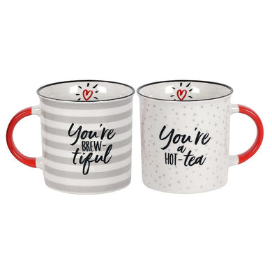 You're Brew-tiful Couples Mug Set - Angelo's Outlet Ltd