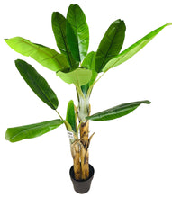 Load image into Gallery viewer, Artificial Banana Tree 140cm - Angelo's Outlet Ltd