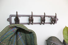 Load image into Gallery viewer, Rustic Cast Iron Wall Hooks, Dogs Tail - Angelo's Outlet Ltd
