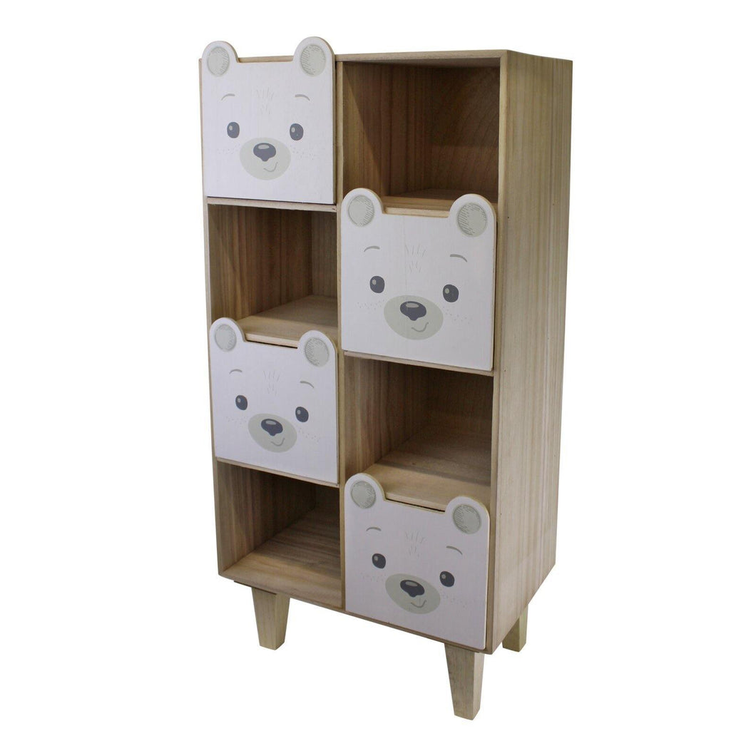 Baby Bear Four Drawer Storage Unit - Angelo's Outlet Ltd