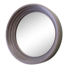 Load image into Gallery viewer, Small  Round Grey Deep Edge Wall Mirror