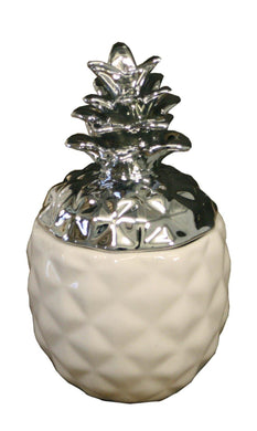 Small White And Silver Pineapple Trinket Store