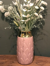 Load image into Gallery viewer, Art Deco Vase - Pink - Angelo's Outlet Ltd