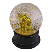 Load image into Gallery viewer, Golden Elephant Snow Globe