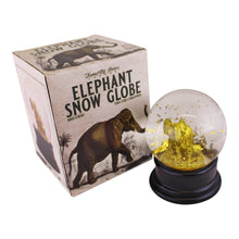 Load image into Gallery viewer, Golden Elephant Snow Globe | Angelo's Outlet