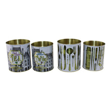 Load image into Gallery viewer, Set of 4 Vintage Style Storage Tins