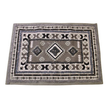 Load image into Gallery viewer, Grey Printed & Tufted Rug, 60x90cm | Angelo's Outlet