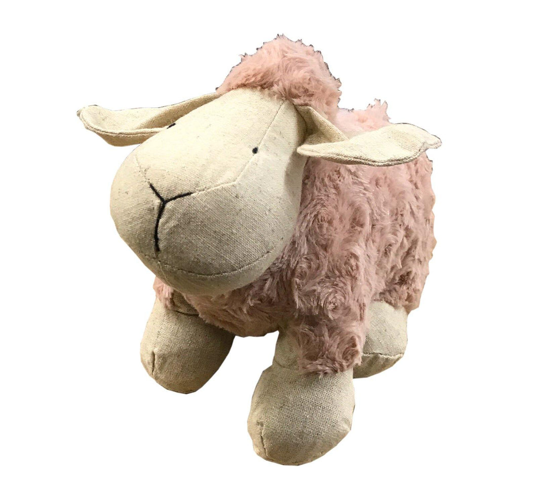 Sheep Doorstop - Pink