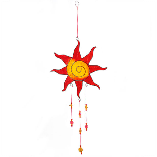 Red/Yellow Suncatcher - Angelo's Outlet Ltd