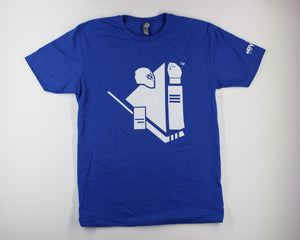 PRESS PLAY Tee - Blue Screen
