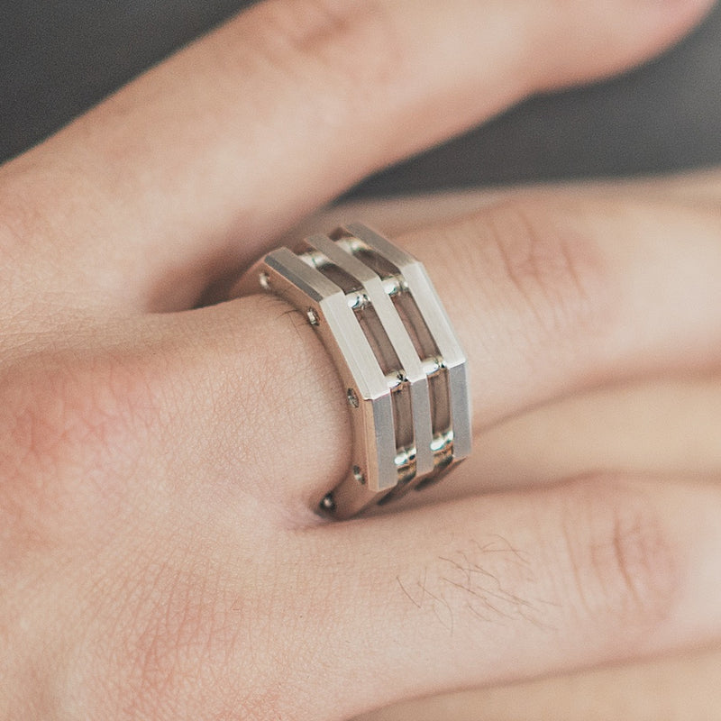 in dust Stacked Ring