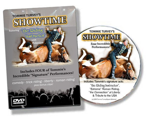 "Tommie Turvey's ""Showtime!"" featuring Funniest Horse Act EVER!! DVD"