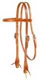Tommie Turvey's Leather Training Headstall