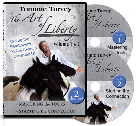 """The Art of Liberty"" Horse Training DVD 2 Disc Set"