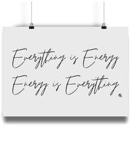 Load image into Gallery viewer, Everything is Energy - Eco Bamboo Art Print