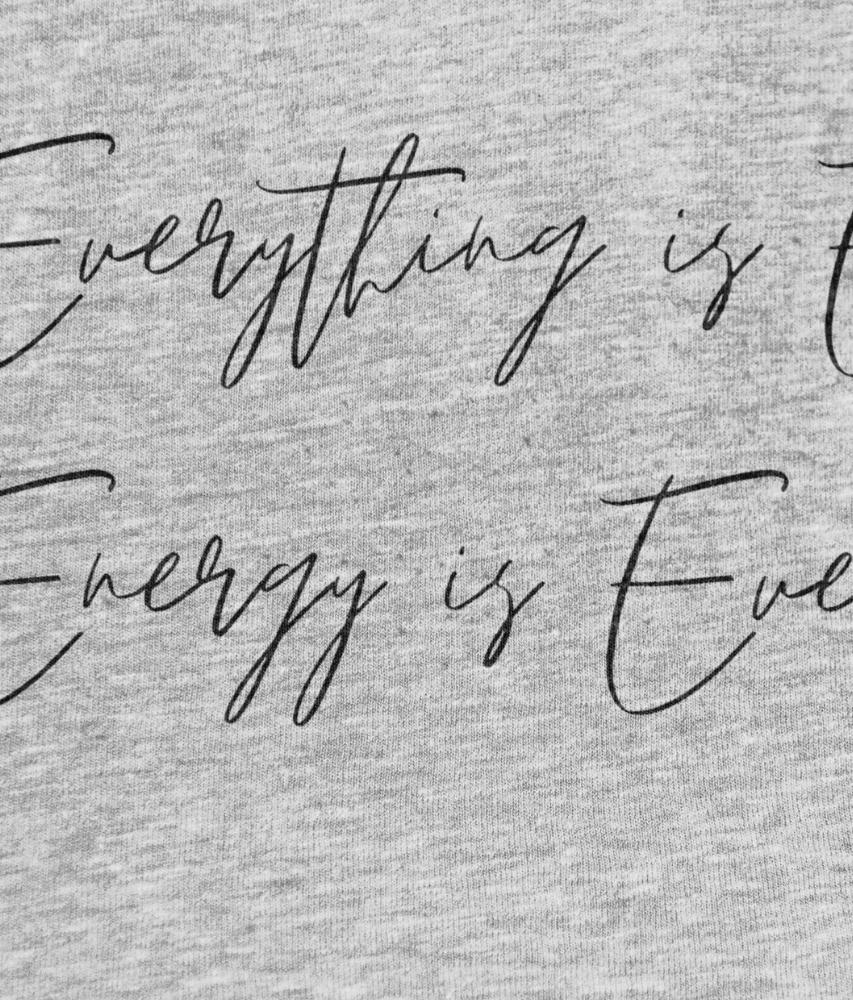Everything is Energy - 100% Organic Cotton Dress