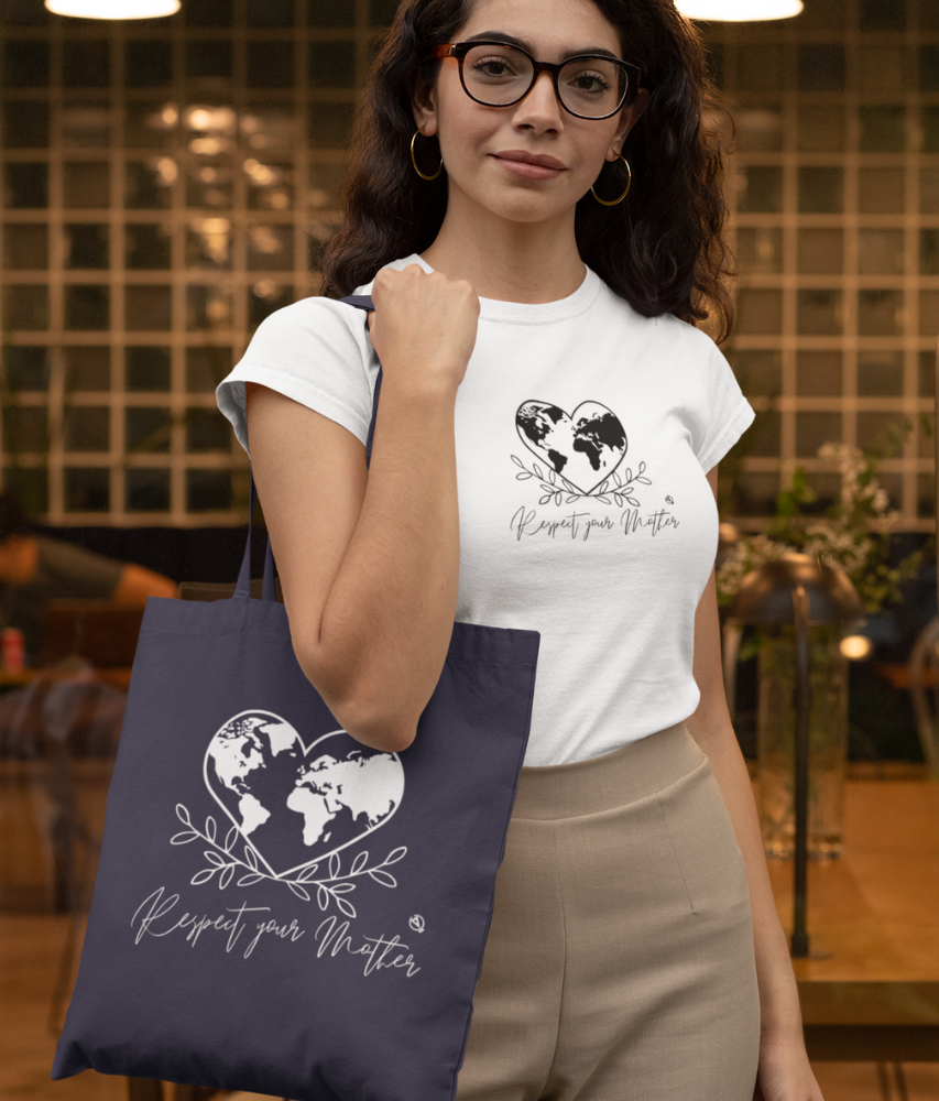Respect Your Mother - Organic & Recycled Tote Bag