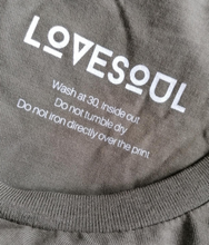 Charger l'image dans la galerie, LoveSoul - 100% Organic Cotton Relaxed Fit Long Sleeve Tee
