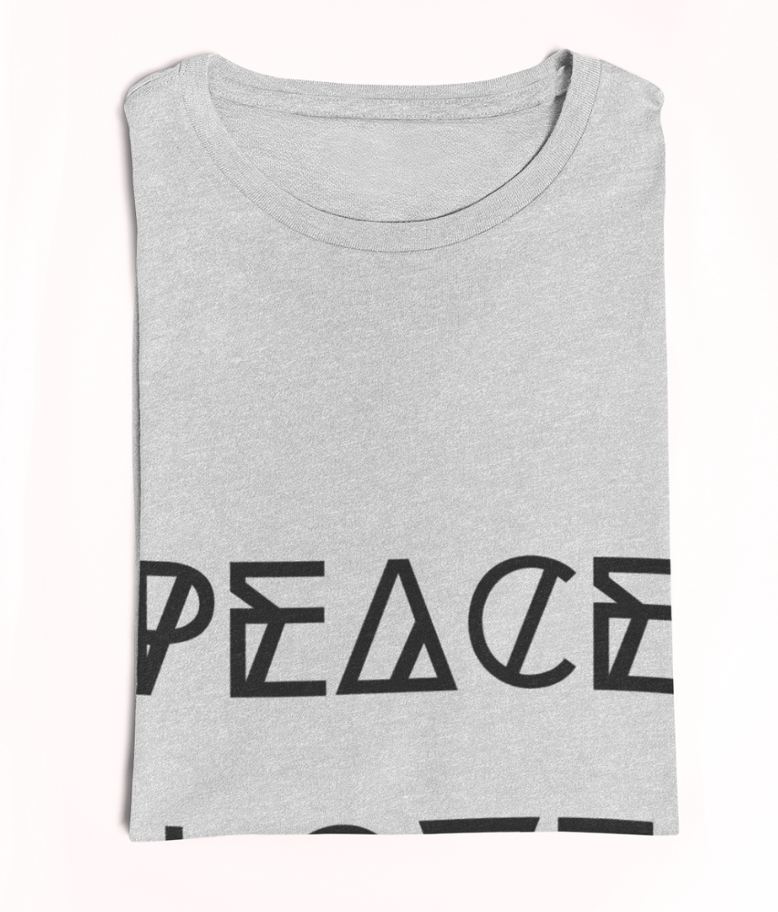 Peace Love Vegan - 100% Organic Cotton Dress