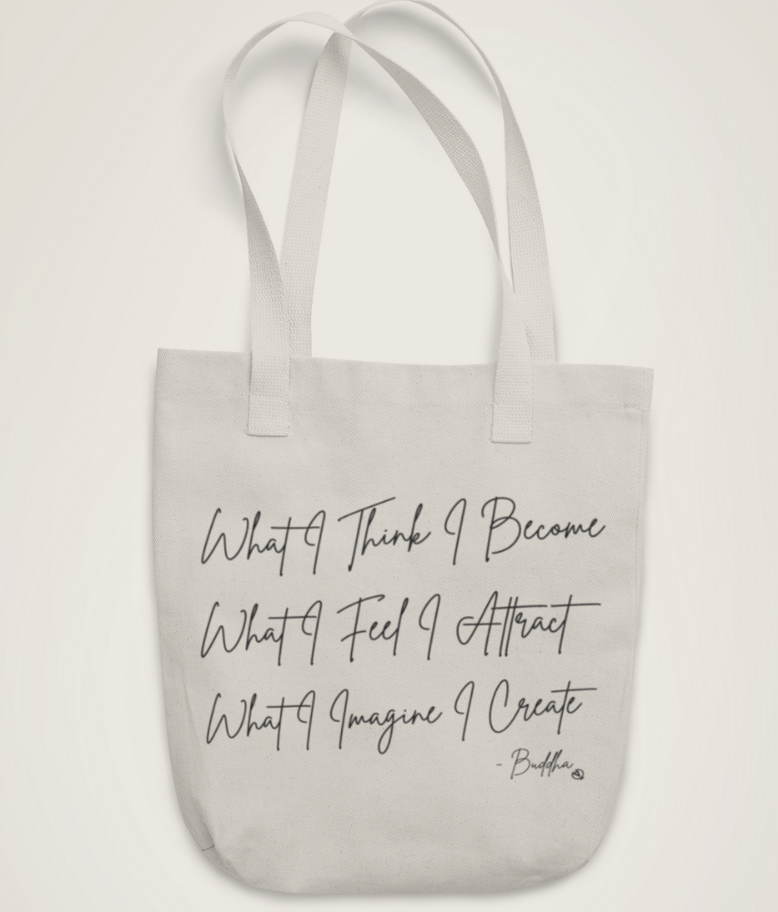 Law of Attraction - Organic & Recycled Tote Bag
