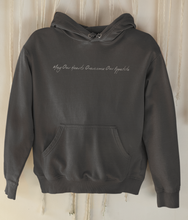 Load image into Gallery viewer, May Our Hearts Overcome Our Appetite - Organic & Recycled Classic Hoodie