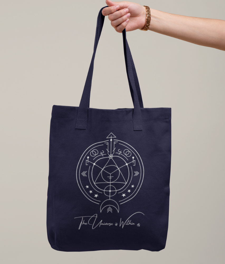 The Universe is Within - Organic & Recycled Tote Bag