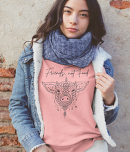 Load image into Gallery viewer, Friends, Not Food - Organic & Recycled Relaxed Fit Sweatshirt