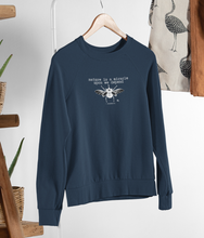 Load image into Gallery viewer, Nature Is A Miracle - Organic & Recycled Relaxed Fit Sweatshirt