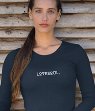 Laden Sie das Bild in den Galerie-Viewer, LoveSoul - 100% Organic Cotton Classic Long Sleeve Tee