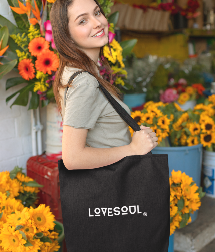 LoveSoul - Organic & Recycled Tote Bag