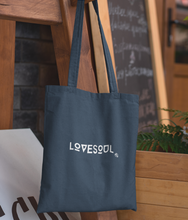 Load image into Gallery viewer, LoveSoul - Organic & Recycled Tote Bag