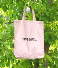 Laden Sie das Bild in den Galerie-Viewer, LoveSoul - 100% Organic Cotton Tote Bag