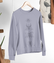 Load image into Gallery viewer, Bug Lover - Organic & Recycled Relaxed Fit Sweatshirt