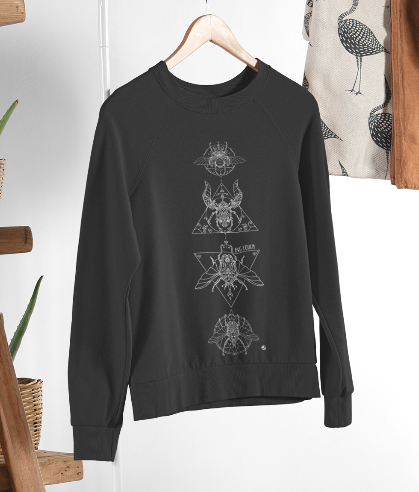 Bug Lover - Organic & Recycled Relaxed Fit Sweatshirt
