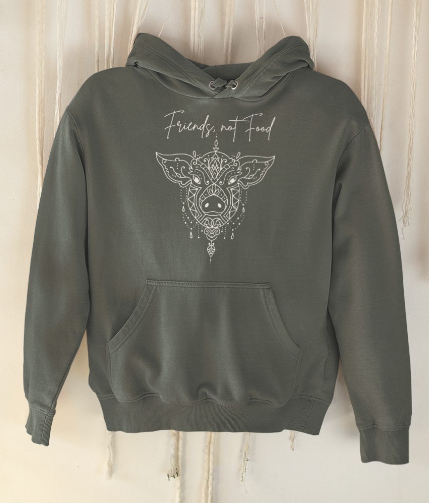 Friends, Not Food - Organic & Recycled Classic Hoodie