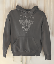 Load image into Gallery viewer, Friends, Not Food - Organic & Recycled Classic Hoodie
