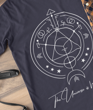 Load image into Gallery viewer, The Universe is Within - 100% Organic Cotton Classic Long Sleeve Tee