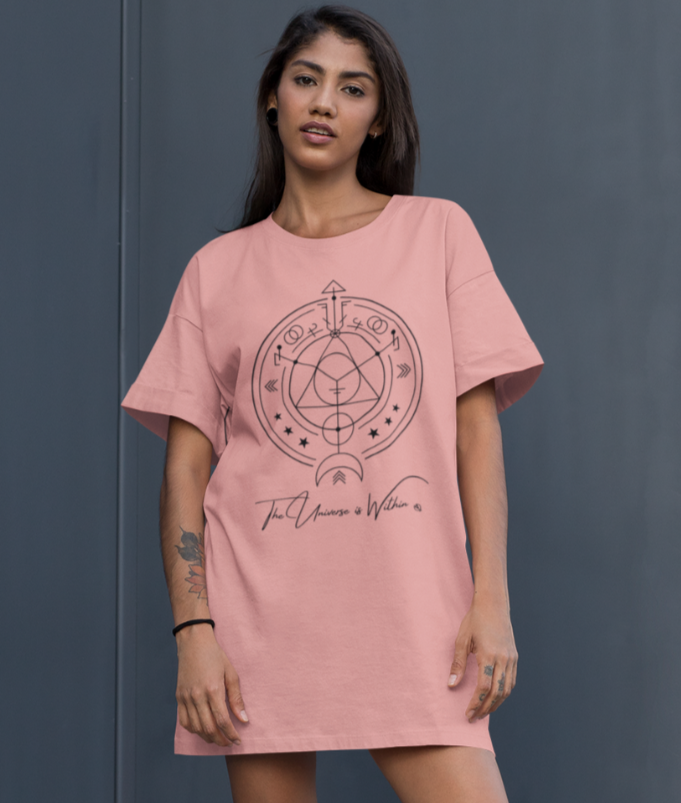 The Universe is Within - 100% Organic Cotton Dress