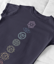 Load image into Gallery viewer, Chakra Energy - 100% Organic Cotton Classic T-Shirt