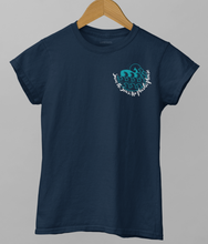 Load image into Gallery viewer, Save The Seas, No Plastic Please - 100% Organic Cotton Classic T-Shirt