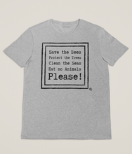 Load image into Gallery viewer, Environmentalist Poem - 100% Organic Cotton Classic T-Shirt
