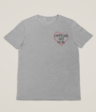 Load image into Gallery viewer, Compassion Over Killing - 100% Organic Cotton Classic T-Shirt