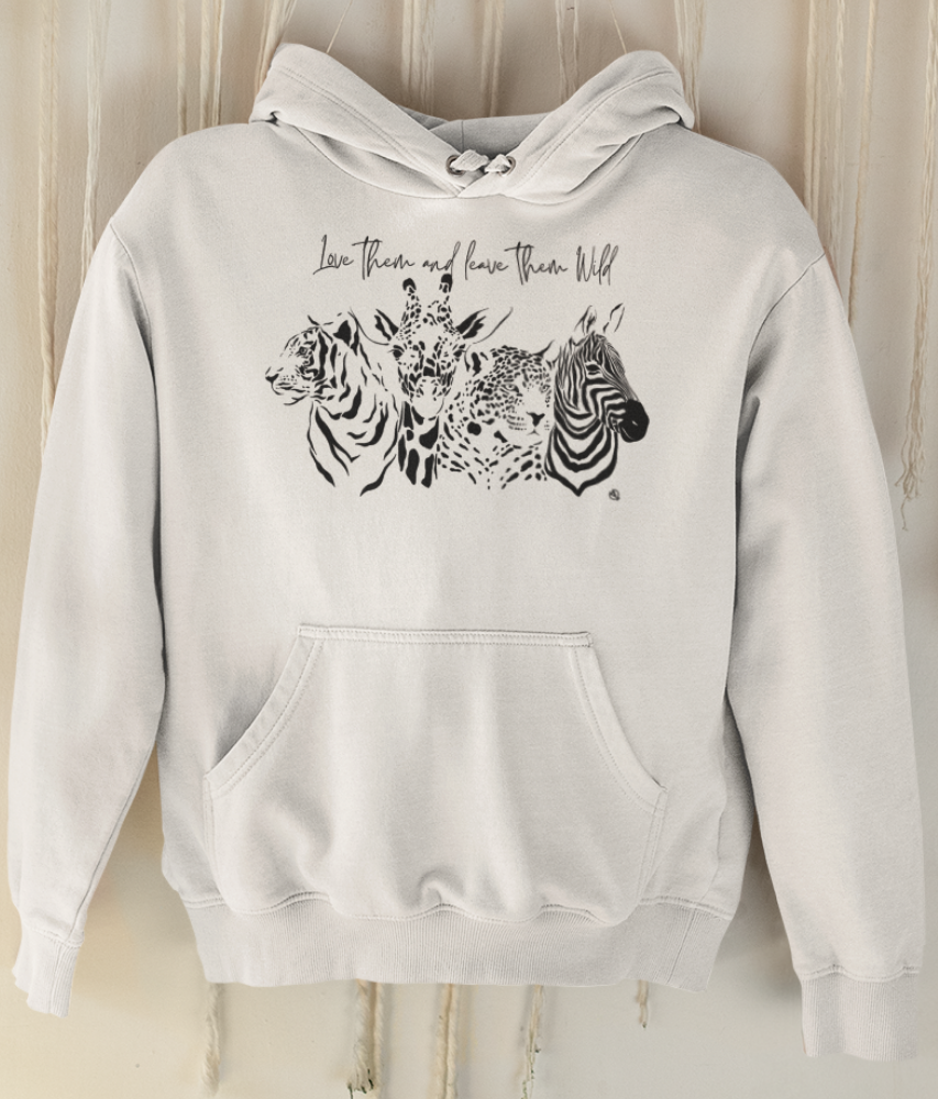 Love Them And Leave Them Wild - Organic & Recycled Classic Hoodie