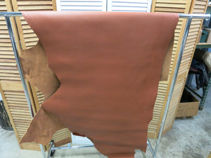 British tan cowhide sides 4.5-5oz