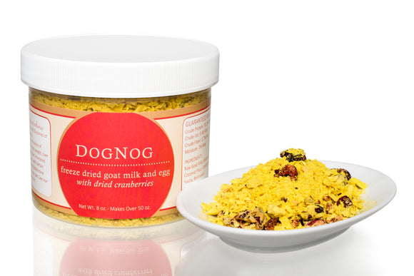 Steve's FZD Raw Goat Milk DogNog for dogs & cats 山羊奶 Refill 8oz