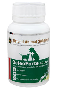 Natural Animal Solutions OsteoForte 60