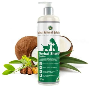 草本沖涼液,適合敏感肌膚 Natural Animal Solutions Herbal Shampoo for Sensitive Skin
