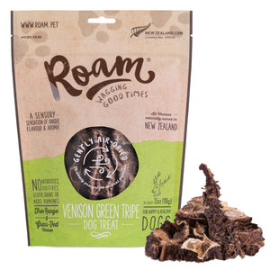 Roam 新⻄蘭 鹿草胃 * 新產品 * Roam Play Venison Green Tripe 100g